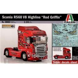 Italeri 3882 Scania R560 V8...