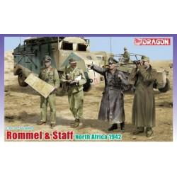 Dragon 6723 Rommel & Staff...