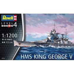 Revell 05161 HMS King George V